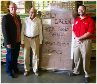 Meals delivered to Placer Food Bank1